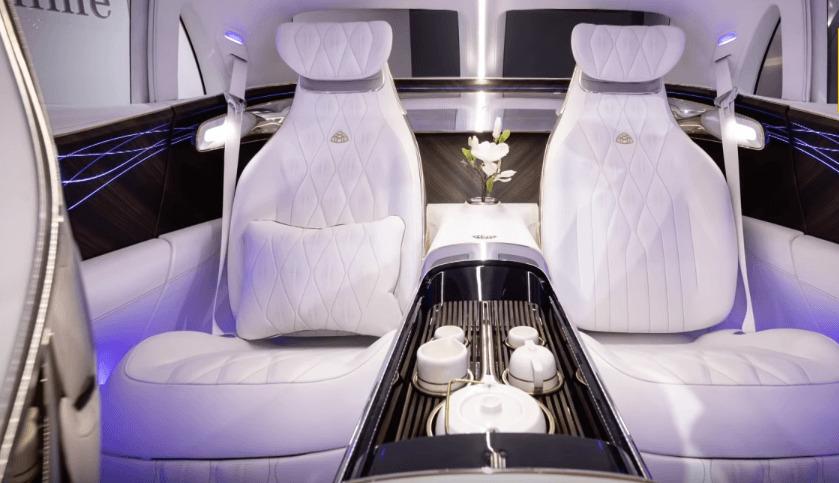 interiér Mercedes-Maybach Ultimate Luxury